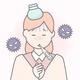 家族がインフルエンザにかかった時の感染防止策は?同居人は出勤できる?