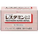 (医薬品画像)レスタミンコーワ糖衣錠