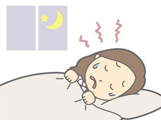 生理前、眠れないの自分だけ?女性ホルモンと睡眠の関係とは?生理周期の不眠&過眠の対処法