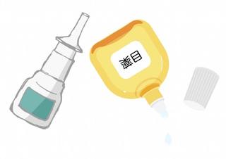 花粉症のおすすめ市販薬:目薬・点鼻薬編