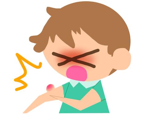 乳幼児が蚊に刺されると異常な程に腫れるのはなぜ?!