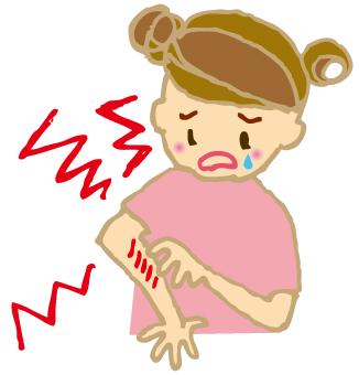 インフルエンザのときに蕁麻疹が出たの対処法を解説