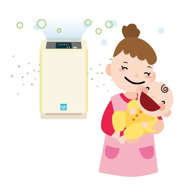 赤ちゃんも花粉症になる!花粉症の発症年齢・花粉症は遺伝する?