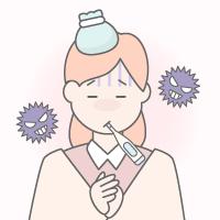 インフルエンザの出席停止期間の早見表!登校・登園はいつから?
