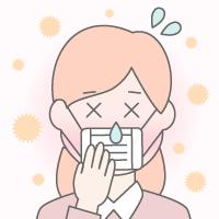花粉症で下痢や吐き気が起こる?原因と対策について